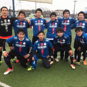 【大会結果】3月26日(日)マリノスふれあいソサイチ~F2-F3クラス~
