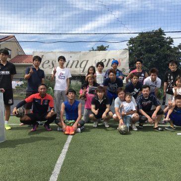 【大会結果】9月3日(日) M2フットサルCUP(スーパービギナー)
