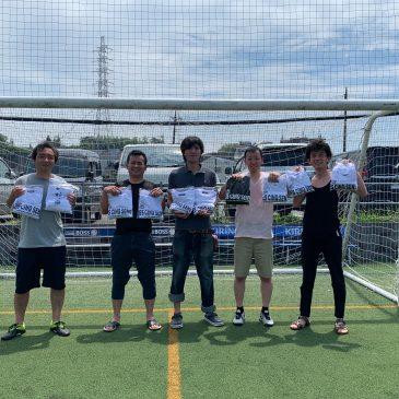 【大会結果】7月28(日)マリノス東山田ソサイチ大会 F3クラス