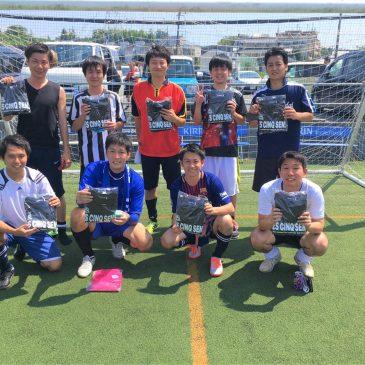 【大会結果】8月25日(日)マリノス東山田ソサイチ大会 F3クラス