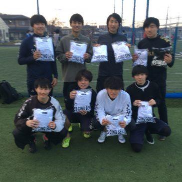 【大会結果】12月29日(日)マリノス東山田ソサイチ大会 F2クラス