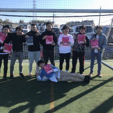 【大会結果】12月29日(日)マリノス東山田ソサイチ大会 F3クラス
