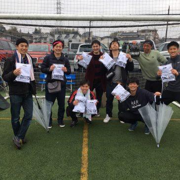【大会結果】3月8日(日)マリノス東山田ソサイチ大会 F3クラス