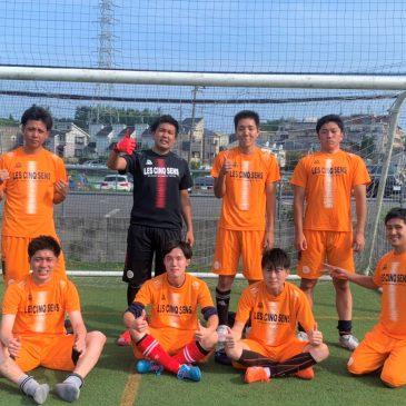 【大会結果】8月9日(日)マリノス東山田ソサイチ大会 F2クラス