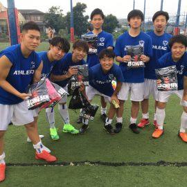 【大会結果】9月13日(日)マリノス東山田ソサイチ大会 F2クラス