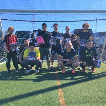 【大会結果】10月25日(日)マリノス東山田ソサイチ大会 F3クラス