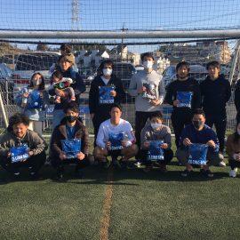 【大会結果】2月14日(日)マリノス東山田ソサイチ大会 F2クラス