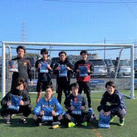 【大会結果】3月14日(日)マリノス東山田ソサイチ大会 F2クラス