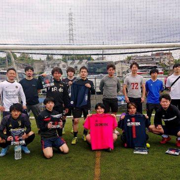 【大会結果】5月5日(水)マリノス東山田ソサイチ大会 F2クラス