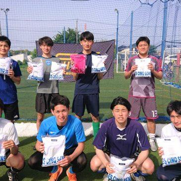 【大会結果】5月4日(火)マリノス東山田ソサイチ大会 F2クラス